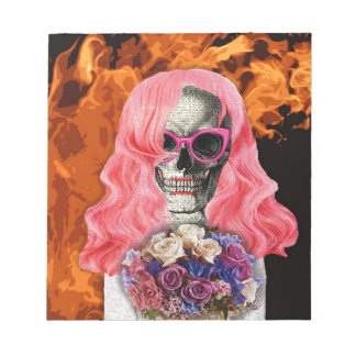 Bride from hell notepad