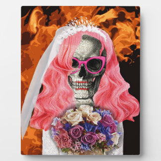 Bride from hell plaque