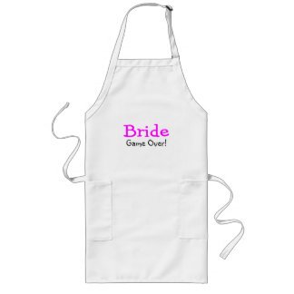 Bride Game Over Aprons