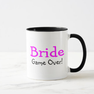 Bride Game Over Mug