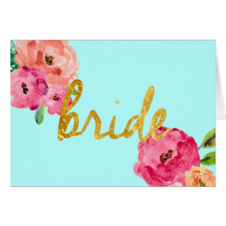 Bride Gifts Card