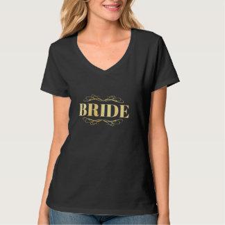 Bride Golden Scroll T-Shirt