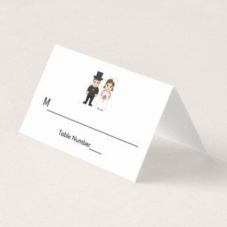 Bride & Groom - Escort Cards