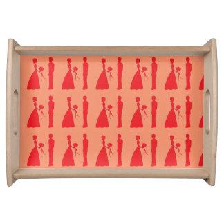 Bride & Groom Serving Tray