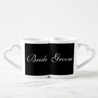 Bride Groom Wedding Save The Date Lover's Mugs Lovers Mugs