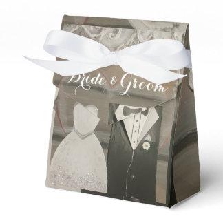 Bride & Groom Wedding Tent Favour Box Party Favour Boxes