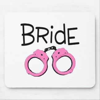 Bride Handcuffs Mouse Pad
