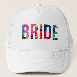 BRIDE Hawaiian Tropical Trucker Hat