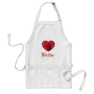 Bride Heart Apron