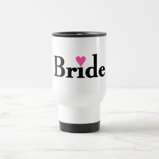 Bride Heart Travel Mug
