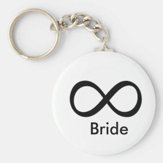 Bride Infinite Love Key Ring