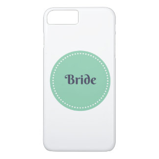 Bride iPhone 7 plus case