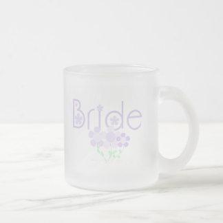 Bride Lilac Flowers Tshirts and Gifts Mug