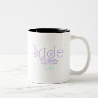 Bride Lilac Flowers Tshirts and Gifts Coffee Mug