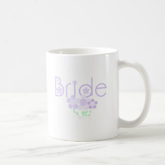 Bride Lilac Flowers Tshirts and Gifts Coffee Mugs
