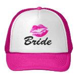 Bride lips trucker hat
