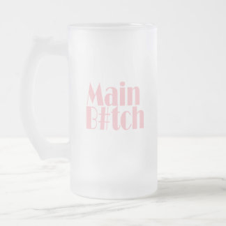 Bride-main-side-2. Frosted Glass Beer Mug