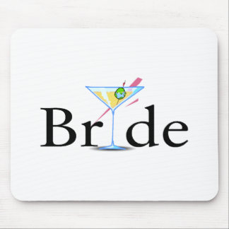 Bride (Martini Drink) Mouse Pad