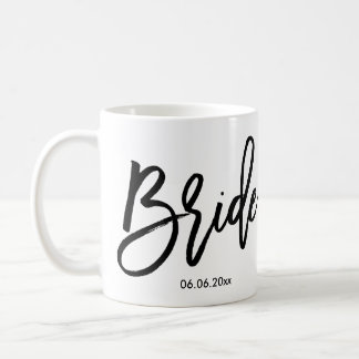 Bride Mug Add Wedding Date