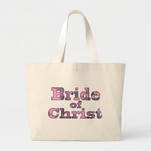 Bride of Christ purple camo Bible bag