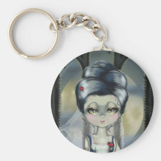Bride of Franken Key Ring