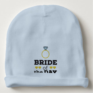 Bride of the Day Zqx9c Baby Beanie