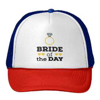 Bride of the Day Zqx9c Cap