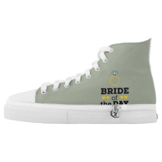 Bride of the Day Zqx9c High Tops