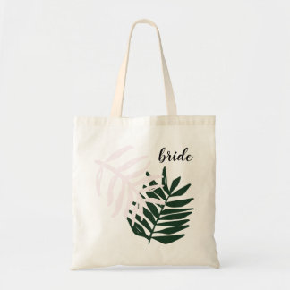 Bride | Palm Getaway Tote Bag