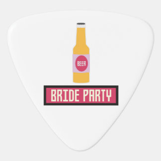 Bride Party Beer Bottle Z6542 Plectrum