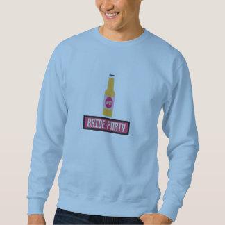 Bride Party Beer Bottle Z6542 Sweatshirt