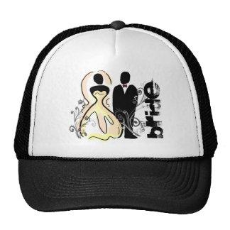 Bride picture hat