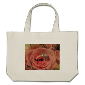 Bride Pink Rose with Ring Bags