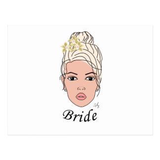Bride Post Card