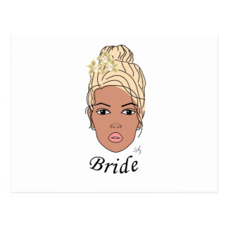 Bride Postcard
