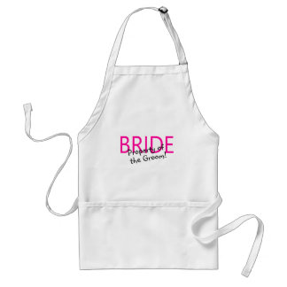 Bride Property Of The Groom Aprons