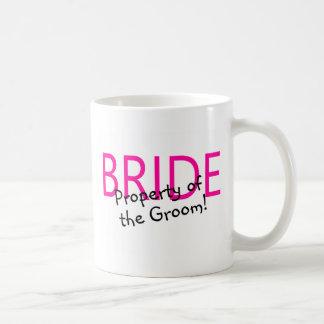 Bride Property Of The Groom Basic White Mug