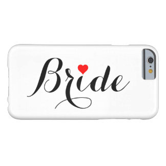 Bride Red Heart iPhone Case