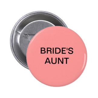 BRIDE s AUNT BUTTON