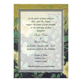 bride s parents invitation wild roses invite