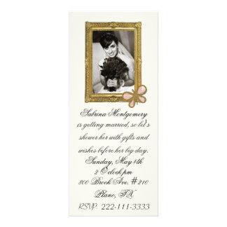 Bride s Portrait Bridal Shower Invitation