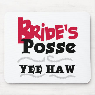 Bride s Posse Mouse Mats