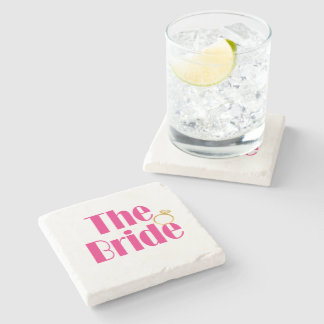 Bride-set-PINK.gif Stone Coaster