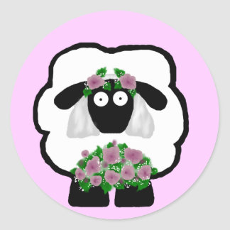 Bride Sheep Stickers