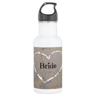 Bride Shell Heart. 532 Ml Water Bottle