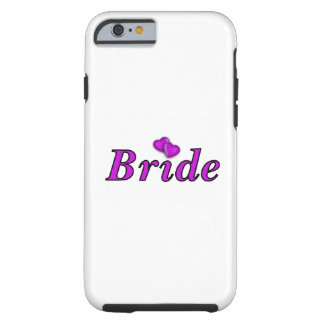 Bride Simply Love Tough iPhone 6 Case