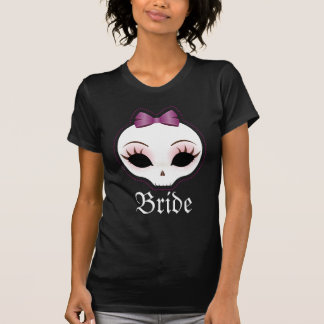 Bride Skullie (Violet) T-Shirt