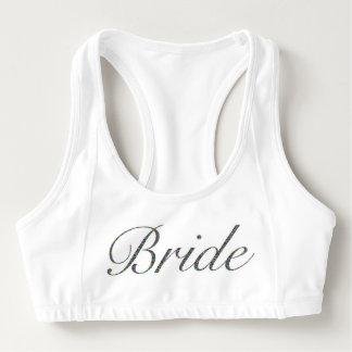 Bride Sports Bra