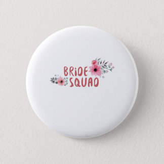 Bride Squad Bachelorette Party Funny Gift wedding 6 Cm Round Badge
