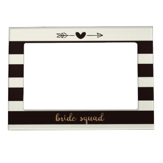 Bride Squad Bridal Shower Magnetic Frame